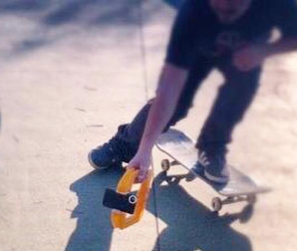 iPhoneで撮るスケートボーディングの映像